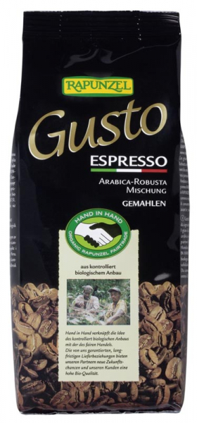 Cafea Bio Gusto Espresso macinata 250g [0]