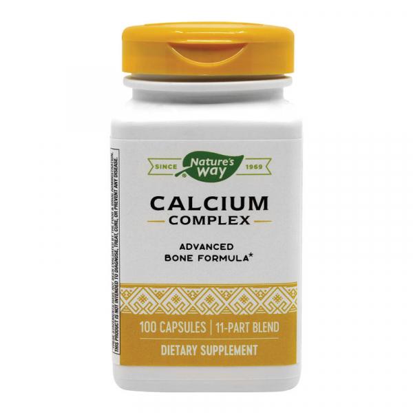 Calciu Complex Bone Formula Nature's Way, 100 capsule, Secom 0