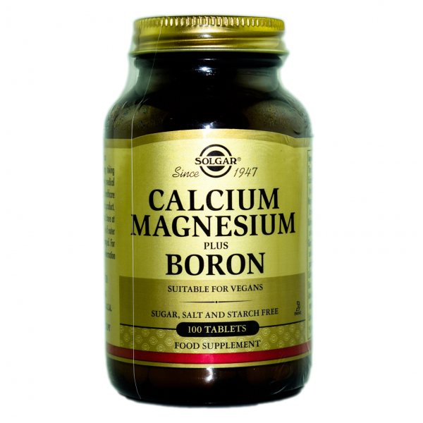 Calciu magneziu si bor tablete,100 cps Solgar 0
