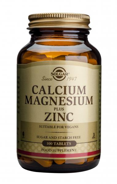 Calciu magneziu si zinc 100 tb Solgar 0