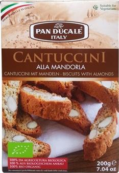 Cantuccini bio cu migdale 0