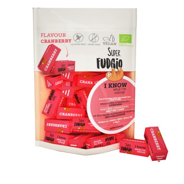 Caramele bio - aroma merisoare 150g 0