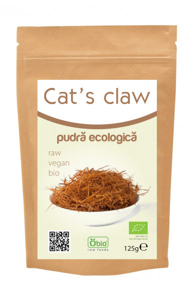Cat's claw (gheara matei) pulbere raw bio 125g 0