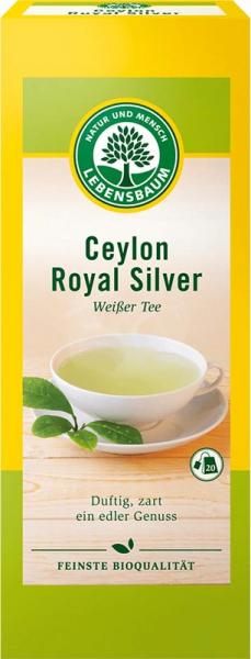 Ceai alb Ceylon Royal Silver 0