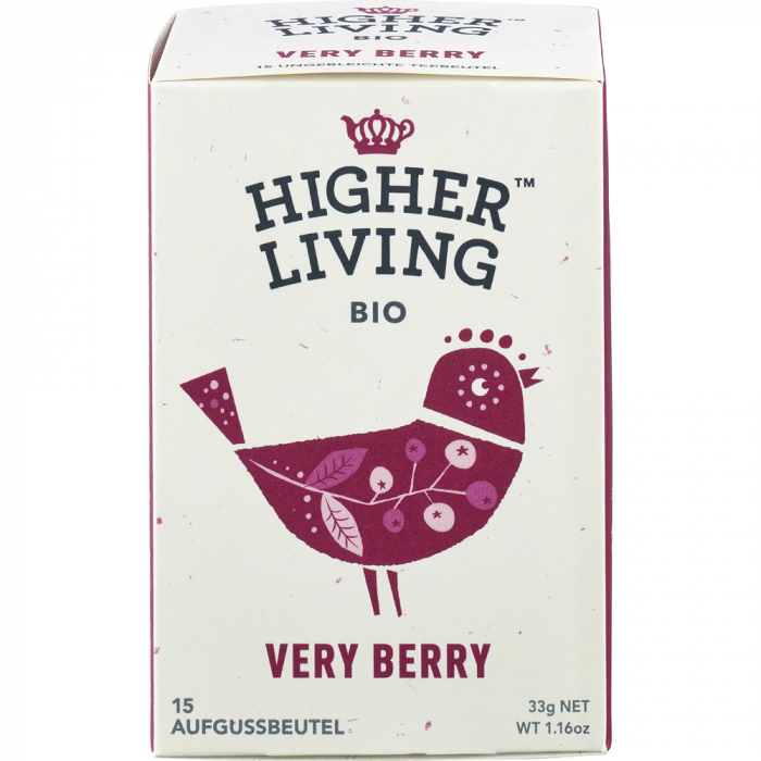 Ceai bio de fructe Very Berry [0]