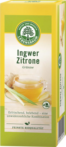 Ceai cu ghimbir si lamaie ecologic [0]