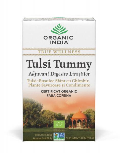 Ceai Digestiv Tulsi (Busuioc Sfant) Tummy cu Ghimbir [0]