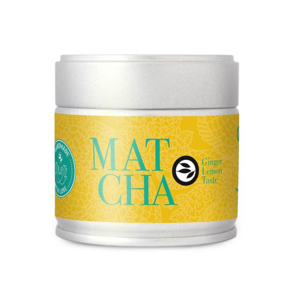 Ceai Matcha BIO - Ginger Lemon 0