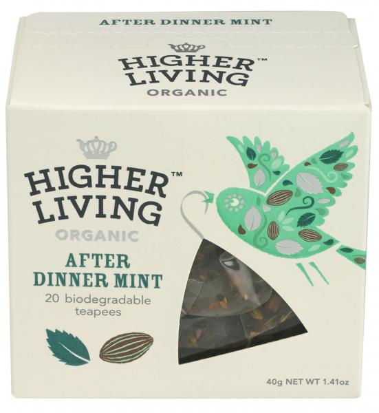 Ceai premium AFTER DINNER eco, 20 plicuri, Higher Living 0