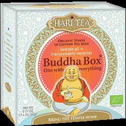 Ceai premium - Budha Box - cutie cu toate cele 11 ceaiuri Hari Tea bio 11dz 0