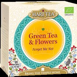 Ceai premium Hari Tea - Forget Me Not - ceai verde si flori bio 10dz 0