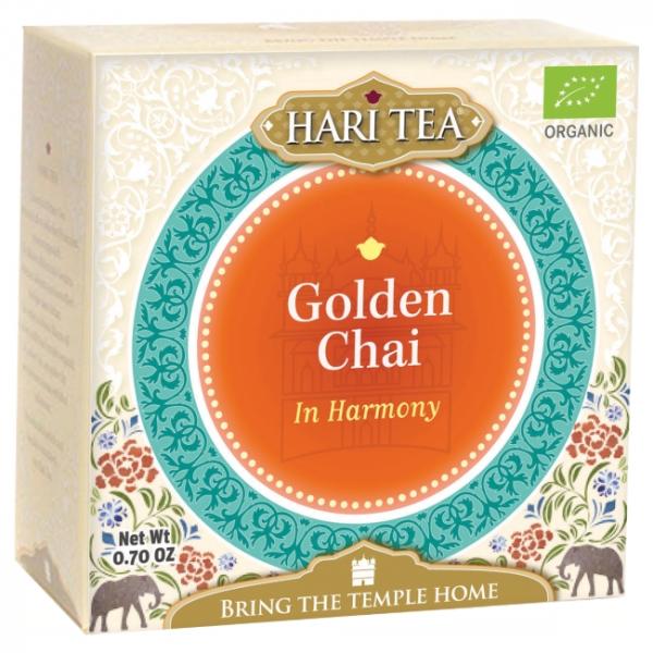Ceai premium Hari Tea - In Harmony - golden chai bio 10dz 0