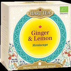 Ceai premium Hari Tea - Mindscape - ghimbir si lamaie bio 10dz 0