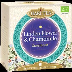 Ceai premium Hari Tea - Sweetheart - tei si musetel bio 10dz 0
