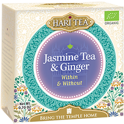 Ceai premium Hari Tea - Within and Without - iasomie si ghimbir bio 10dz 0