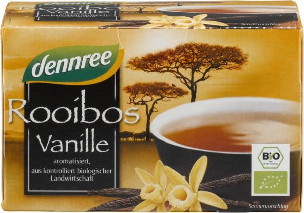 Ceai Rooibos cu vanilie bio 0