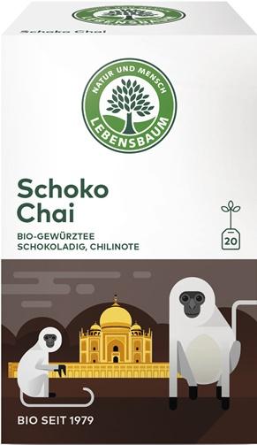 Ceai Schoko Chai x20 plicuri 0