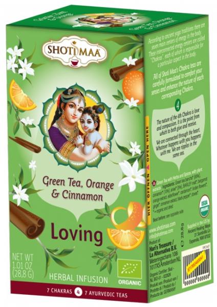 Ceai Shotimaa Chakras - Loving - ghimbir, portocala si scortisoara bio 16dz 0
