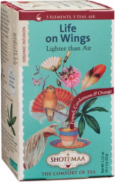 Ceai Shotimaa Elements - Life on Wings bio 16dz 0