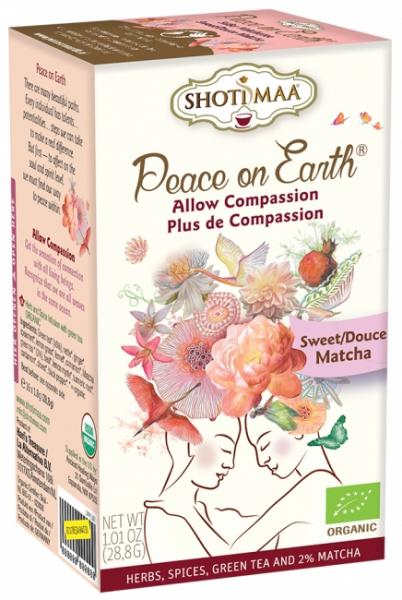 Ceai Shotimaa Peace on Earth - Allow Compassion bio 16dz 0