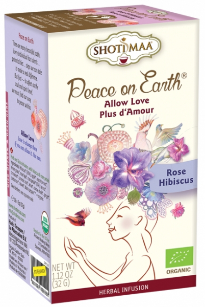 Ceai Shotimaa Peace on Earth -Allow Love bio 16dz 0