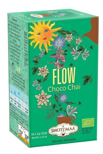 Ceai Shotimaa Sundial - Flow - choco chai bio 16dz 0