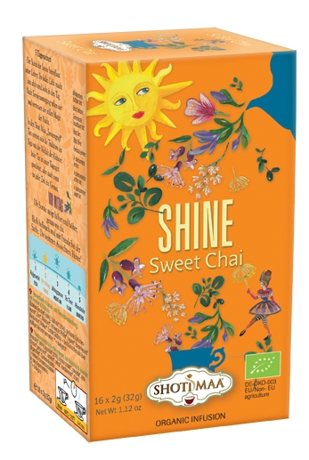 Ceai Shotimaa Sundial - Shine - sweet chai bio 16dz 0