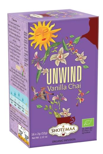 Ceai Shotimaa Sundial - Unwind - vanilla chai bio 16dz 0
