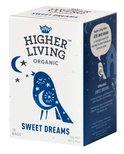 Ceai SWEET DREAMS eco, 15 plicuri, Higher Living 0