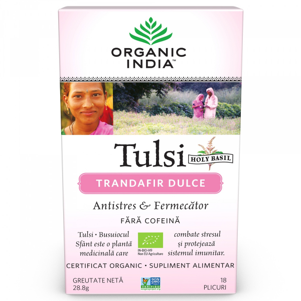 Ceai Tulsi (Busuioc Sfant) Trandafir Dulce 0