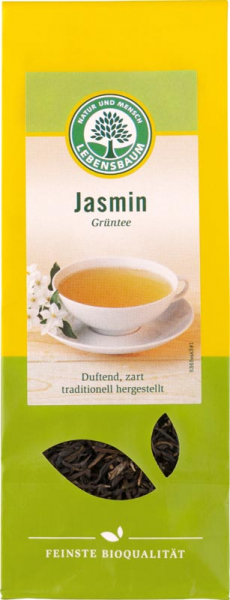 Ceai verde Jasmin Lebensbaum 0