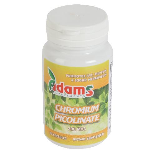 Chromium picolinate 200mcg, 30 capsule, Adams Vision 0