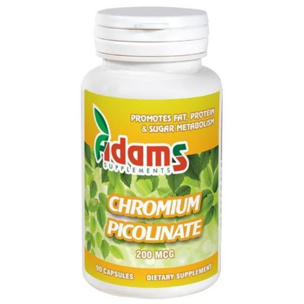 Chromium Picolinate 200 mcg, 90 capsule, Adams Vision 0