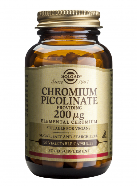 Chromium Picolinate 200mg 90 veg caps Solgar 0