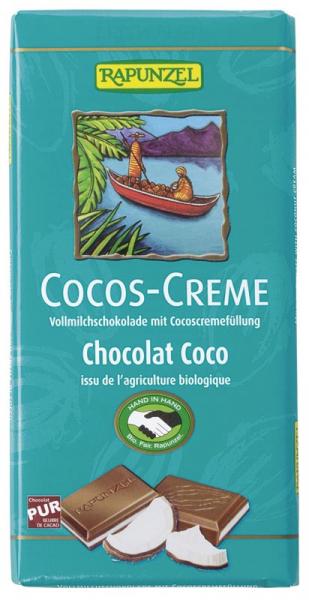 Ciocolata bio cu cremă de cocos HIH 0