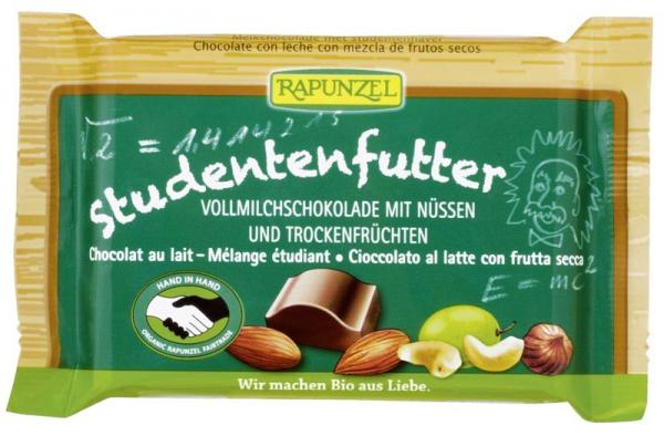 Ciocolata bio cu mix de fructe si alune 0