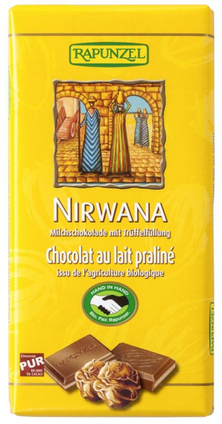 Ciocolata Bio Nirwana cu praline HIH 0