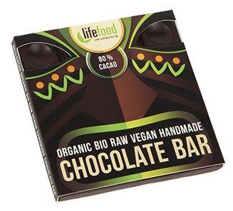 Ciocolata cu 80% cacao raw bio 35g 0