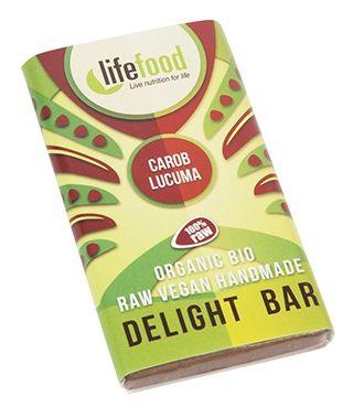 Ciocolata MINI cu lucuma si carob raw bio 15g 0