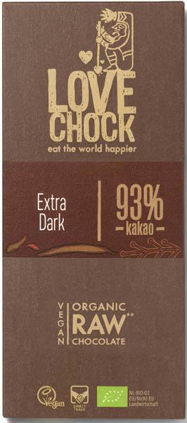 Ciocolata RAW VEGANA BIO 93% cacao eco 0