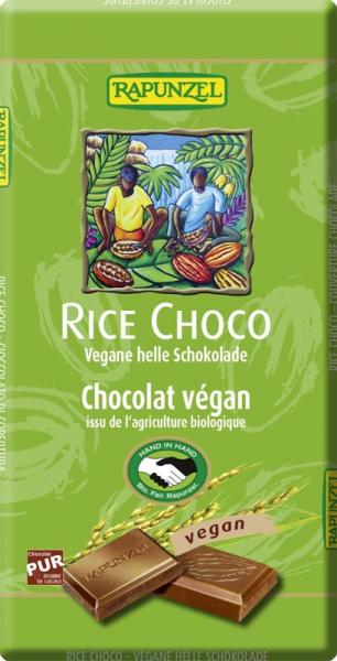 Ciocolata vegana cu lapte de orez bio 0