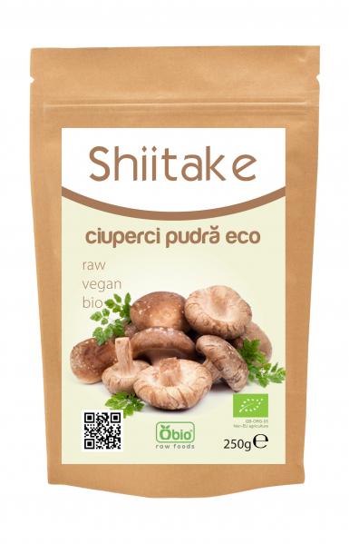 Ciuperci shiitake pudra bio 250g 0