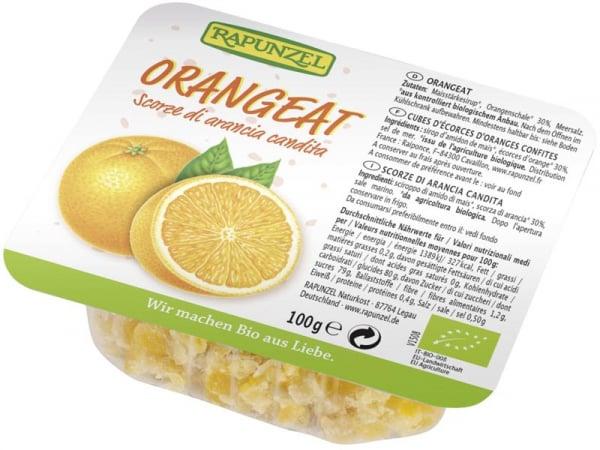 Coaja bio de portocale fără zahăr 0