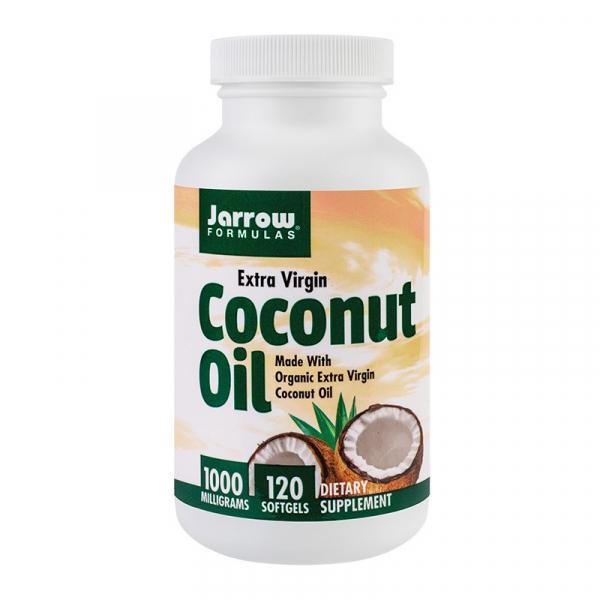 Coconut Oil Extra Virgin 1000mg, 120 capsule, Secom 0