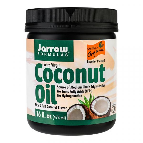 Ulei de cocos extra virgin Jarrow Formulas, 473 ml, Secom 0