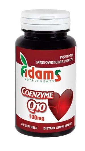 Coenzima Q10 100mg, 30 capsule, Adams Vision 0
