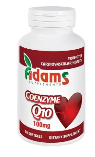 Coenzima Q10 100mg, 90 capsule, Adams Vision [0]