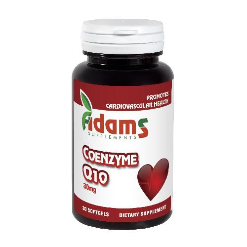 Coenzima Q10 30 mg, 30 capsule, Adams Vision 0