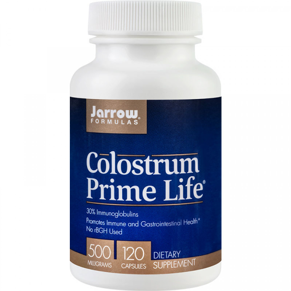 Colostrum Prime Life 500mg Jarrow Formulas, 120 capsule, Secom 0