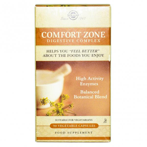 Complex digestiv Comfort Zone, 90 capsule, Solgar 0